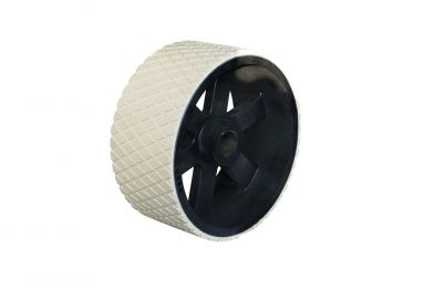 Rubberized pulleys
